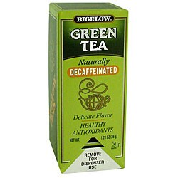 R.C. Bigelow CS 28-piece Decaffeinated Green Tea (Pack of 6)