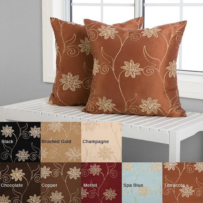 Countess 18-inch Decorative Pillows (Set of 2)