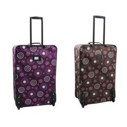 Rockland Deluxe Pearl 4-piece Expandable Luggage Set - Thumbnail 1