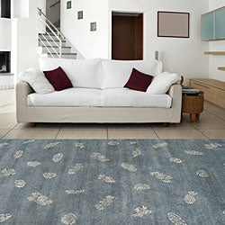 Hand-knotted Seaboard Camel Wool Rug (8' x 11')