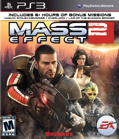 PS3 - Mass Effect 2 - By Electronic Arts
