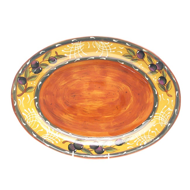 Certified International French Olives Oval Platter
