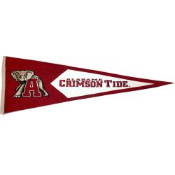 Alabama Crimson Tide Classic Wool Pennant - Thumbnail 1