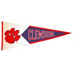 Clemson Tigers Classic Wool Pennant - Thumbnail 0