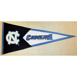 North Carolina Tar Heels Classic Wool Pennant - Thumbnail 1