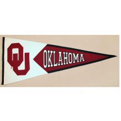 Oklahoma Sooners Classic Wool Pennant - Thumbnail 1