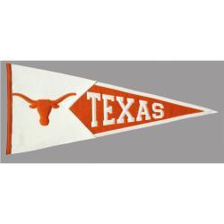 Texas Longhorns Classic Wool Pennant - Thumbnail 2