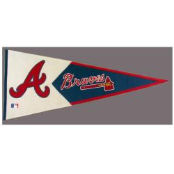 Atlanta Braves Classic Wool Pennant