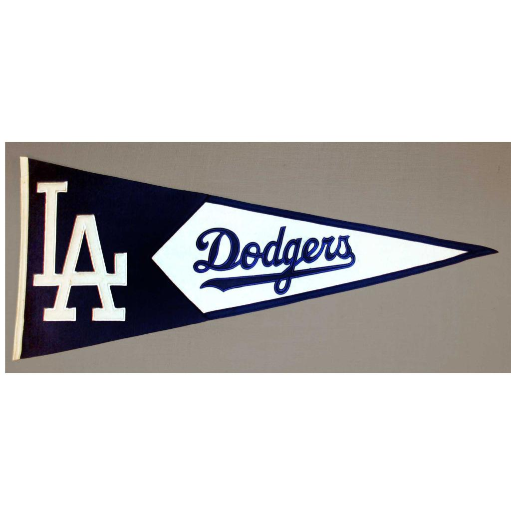 Los Angeles Dodgers Classic Wool Pennant - Thumbnail 0