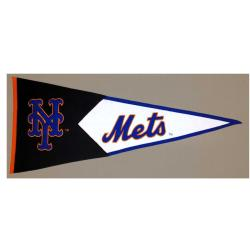 New York Mets Classic Wool Pennant - Thumbnail 2