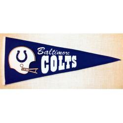 Baltimore Colts Throwback Wool Pennant - Thumbnail 1