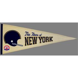 New York Jets AFL Throwback Wool Pennant - Thumbnail 2