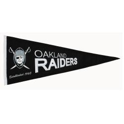 Oakland Raiders Throwback Wool Pennant - Thumbnail 1