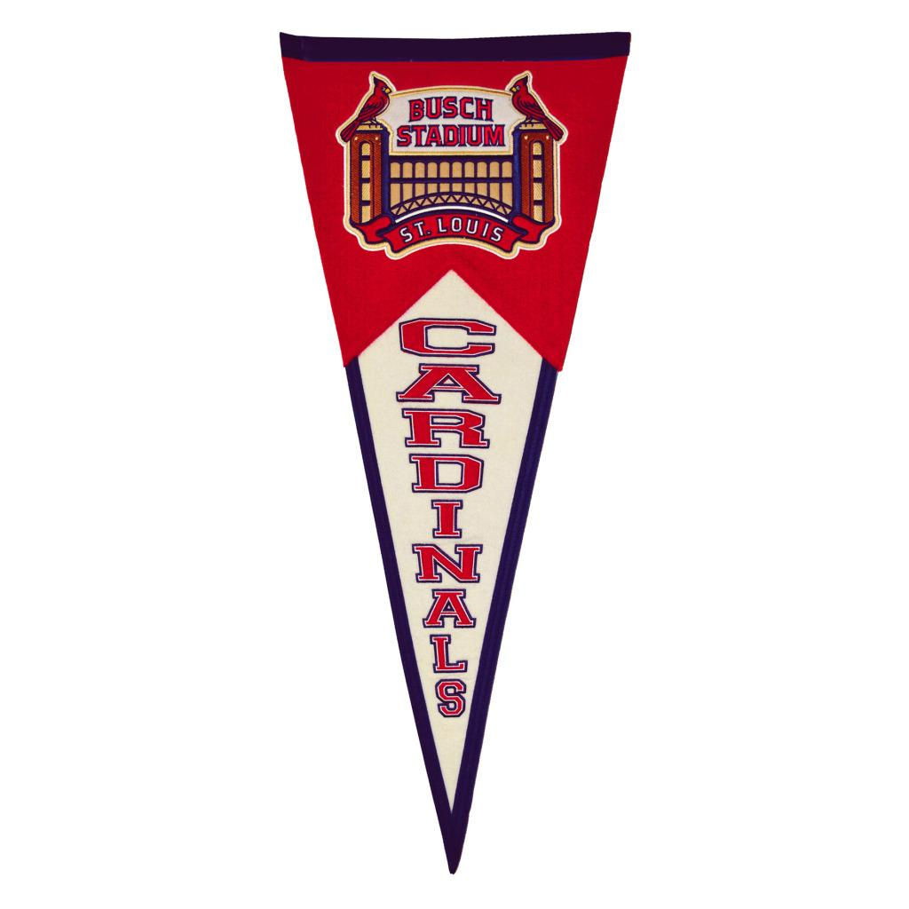 St. Louis Cardinals Throwback Wool Pennant