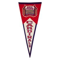 St. Louis Cardinals Throwback Wool Pennant - Thumbnail 1
