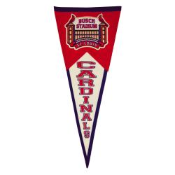 St. Louis Cardinals Throwback Wool Pennant - Thumbnail 2