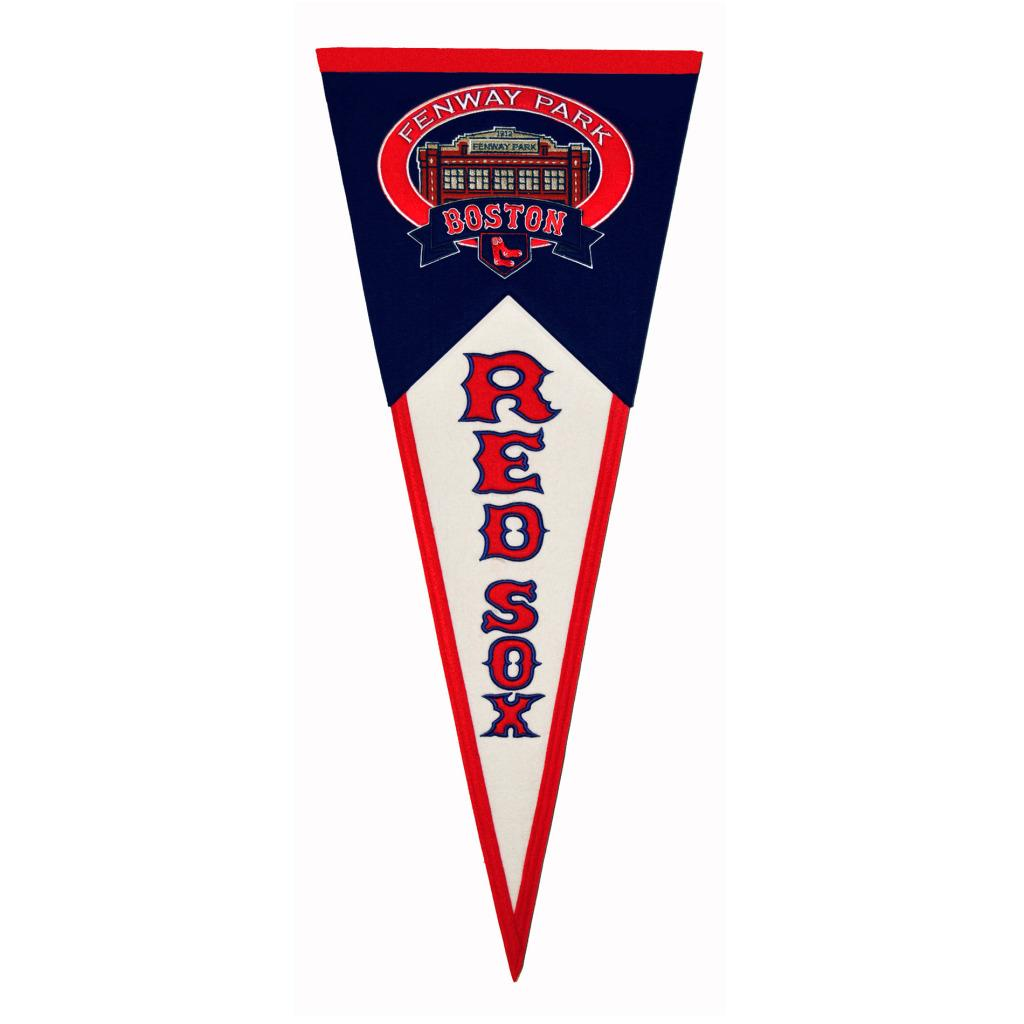 Boston Red Sox Throwback Wool Pennant