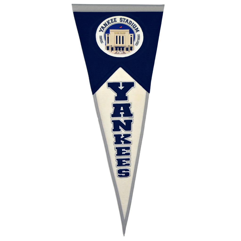 New York Yankees Traditions Throwback Wool Pennant