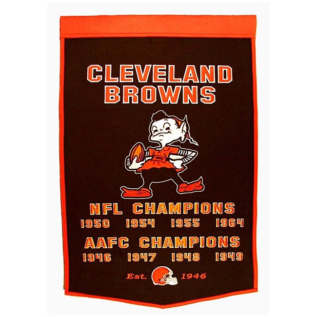 Cleveland Browns NFL Dynasty Banner