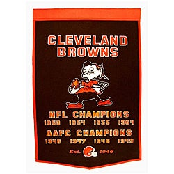 Cleveland Browns NFL Dynasty Banner - Thumbnail 0