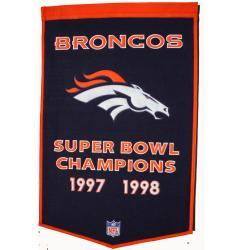 Denver Broncos NFL Dynasty Banner - Thumbnail 1