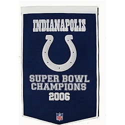 Indianapolis Colts NFL Dynasty Banner - Thumbnail 0