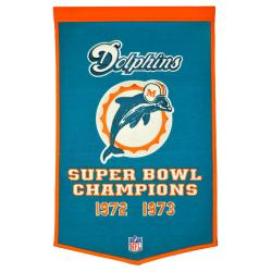 Miami Dolphins NFL Dynasty Banner - Thumbnail 1