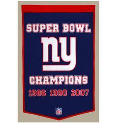 New York Giants NFL Dynasty Banner