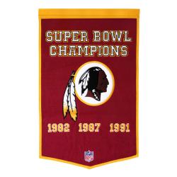 Washington Redskins NFL Dynasty Banner - Thumbnail 0