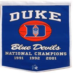 Duke Blue Devils NCAA Basketball Dynasty Banner - Thumbnail 0