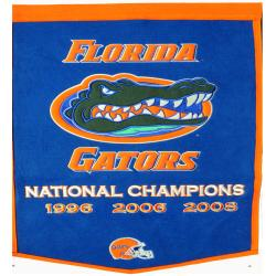 Florida Gators NCAA Football Dynasty Banner - Thumbnail 1
