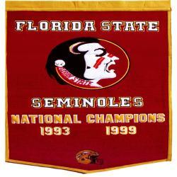 Florida State Seminoles NCAA Football Dynasty Banner - Thumbnail 1