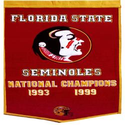 Florida State Seminoles NCAA Football Dynasty Banner