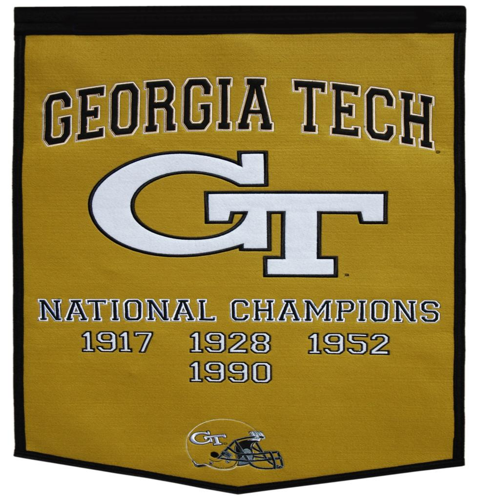 Georgia Tech Yellow Jackets NCAA Football Dynasty Banner