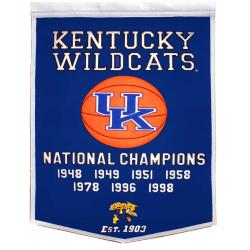 Kentucky Wildcats NCAA Basketball Dynasty Banner - Thumbnail 1