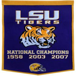 LSU Tigers NCAA Football Dynasty Banner - Thumbnail 1