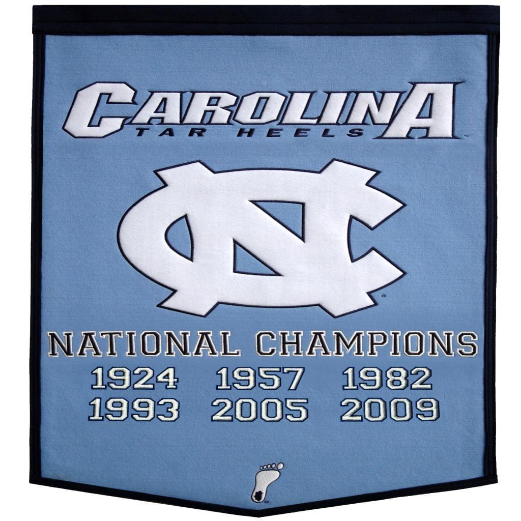 North Carolina NCAA Basketball Dynasty Banner