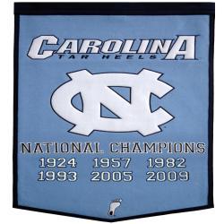 North Carolina NCAA Basketball Dynasty Banner - Thumbnail 1
