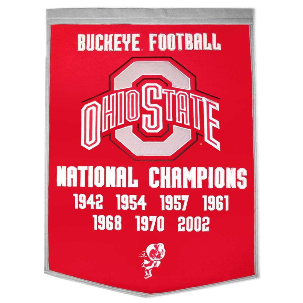 Shop Ohio State Buckeyes Ncaa Football Dynasty Banner