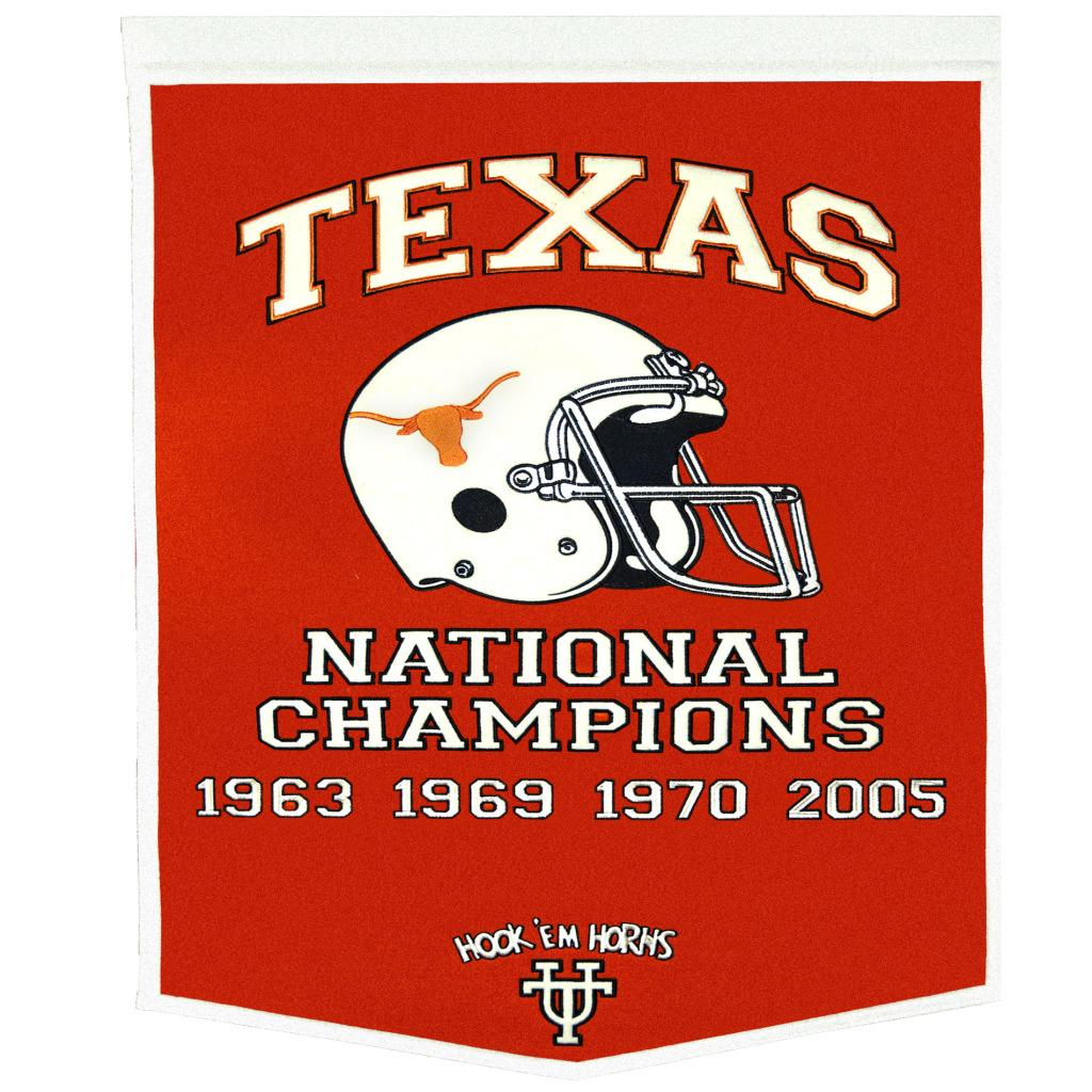 Texas Longhorns NCAA Football Dynasty Banner