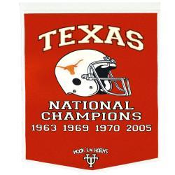 Texas Longhorns NCAA Football Dynasty Banner - Thumbnail 1