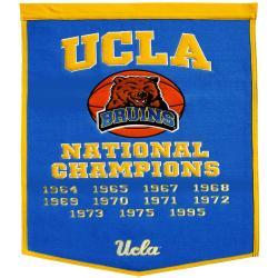 UCLA Bruins NCAA Basketball Dynasty Banner