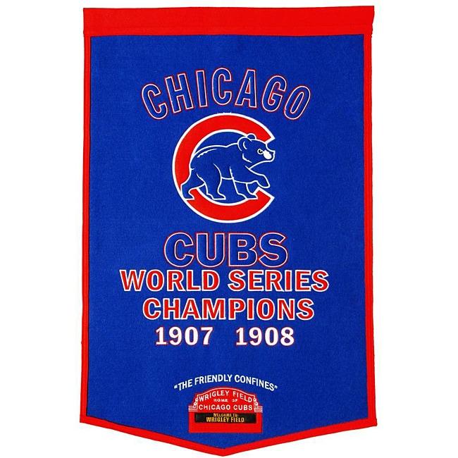 Chicago Cubs MLB Dynasty Banner