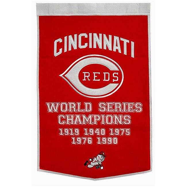 Cincinnati Reds MLB Dynasty Banner