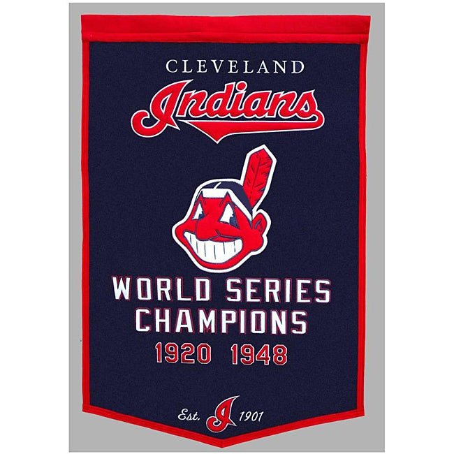 Cleveland Indians MLB Dynasty Banner - Thumbnail 0