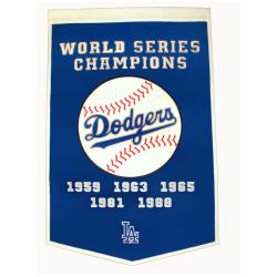 Los Angeles Dodgers MLB Dynasty Banner - Thumbnail 0
