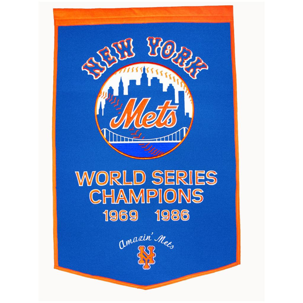 New York Mets MLB Dynasty Banner
