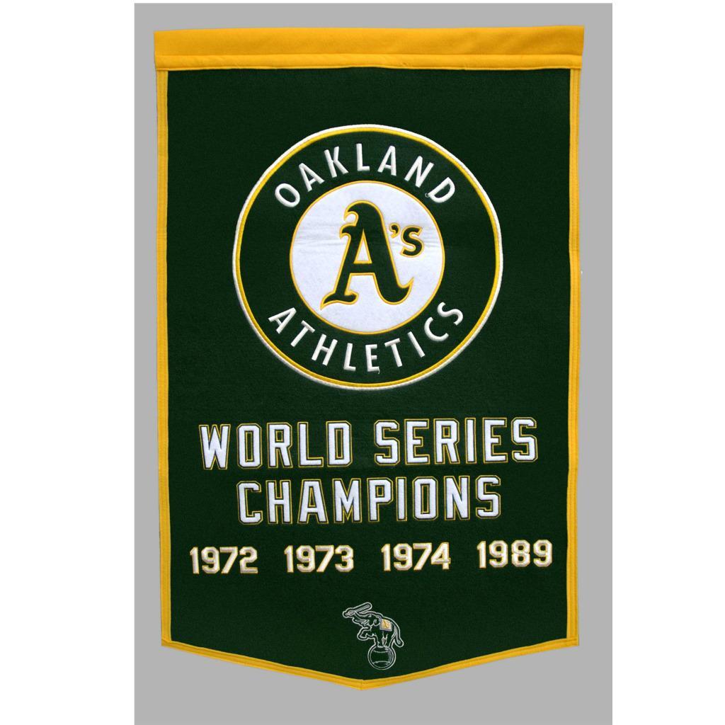 Oakland Athletics MLB Dynasty Banner