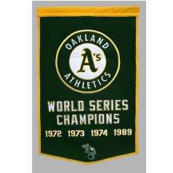 Oakland Athletics MLB Dynasty Banner - Thumbnail 1