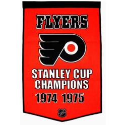 Philadelphia Flyers NHL Dynasty Banner - Thumbnail 1